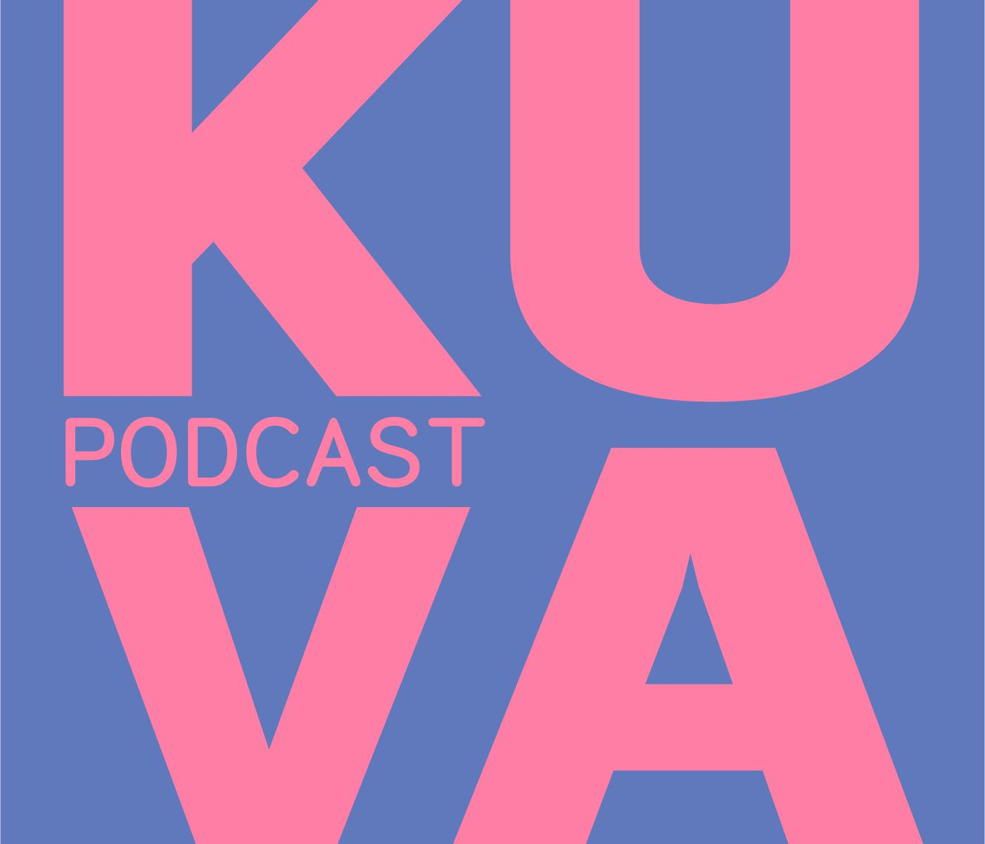 Kuva podcast -juliste