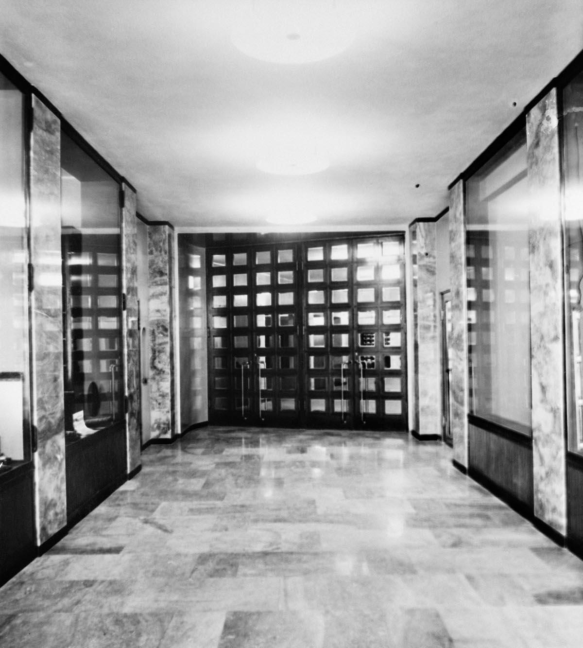 Hallway of the R building