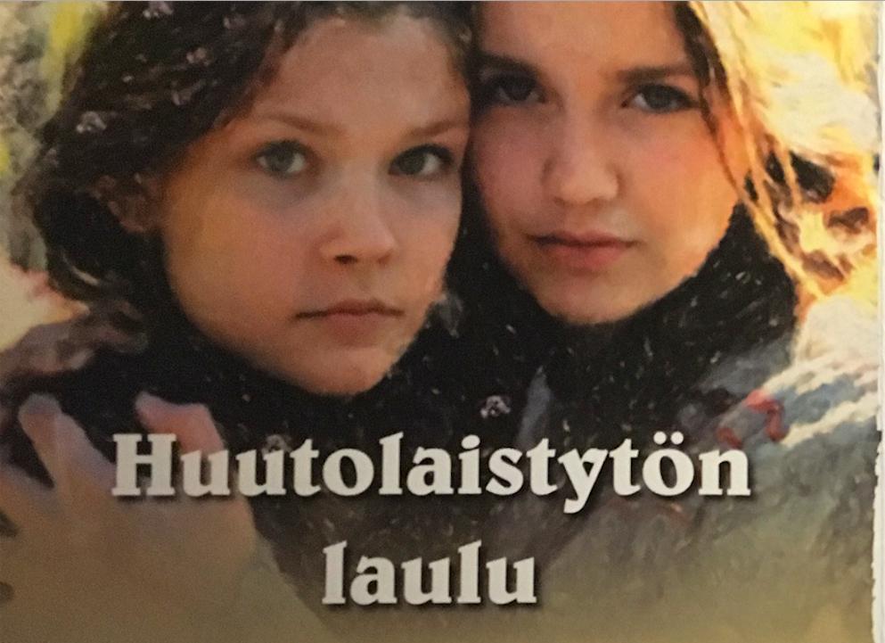 Kuva Huutolaistyttö-oopperan käsiohjelmasta.
