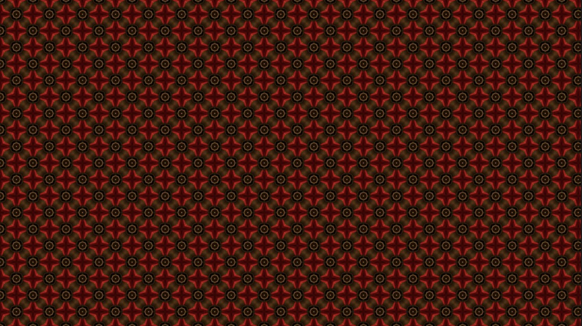 Burgundy and black geometric abstract pattern.